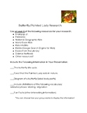 Butterfly/Painted Lady Research Guidelines and Grading Rubric