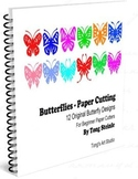 Butterfly Paper Cutting Patterns - Part 1 (Easy 12 Butterf