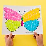 Butterfly Paper Heart Craft