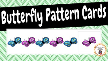 Patterns: Butterfly Pattern Cards