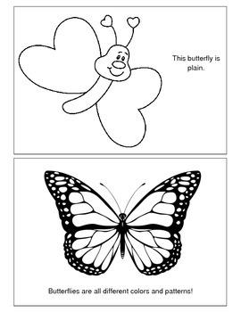 Butterfly Patterns Emergent Reader