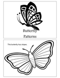 Butterfly Patterns Emergent Reader