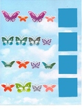 Butterfly Patterns File Folder Game - Great for Autism