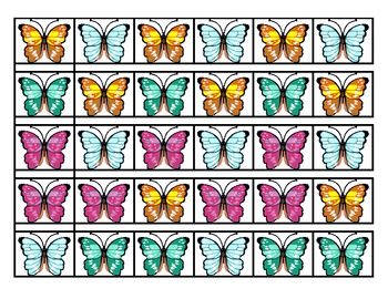 Butterfly Patterns - Matching & Sequencing for Pre-K or Kindergarten