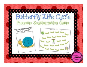Butterfly Phoneme Segmentation Game