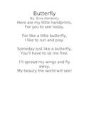 Butterfly Poem