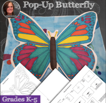 Butterfly Pop-Up Art Activity - Interactive Butterfly Display with Video Demo