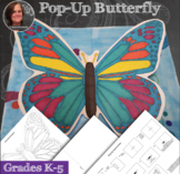 Butterfly Pop-Up Art Activity - Summer Lesson, Butterfly D