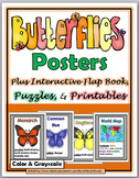 Butterfly Life Cycle Science & Literacy - Butterfly Unit -