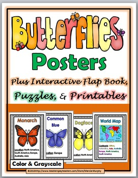 Butterfly Life Cycle Science and Literacy - Butterfly Unit
