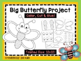 Butterfly Project - Spring Project - Insect Art Project -