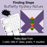 Finding Slope Color Mystery Pattern