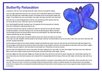 Butterfly Relaxation - progressive body relaxation & visualisation