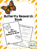Butterfly Research Book