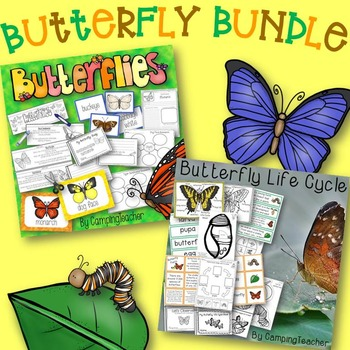 Butterfly Research and Life Cycle Bundle