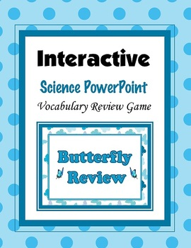 Butterfly Review Game PowerPoint