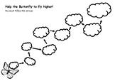 Butterfly Reward Worksheet