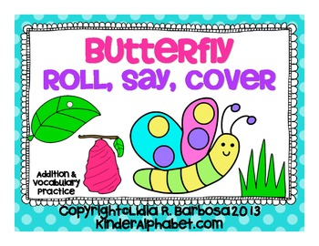 Butterfly Roll, Say, Color Gametivity