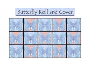 Butterfly Roll and Cover Number Game
