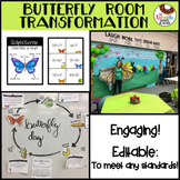Butterfly Life Cycle Room Transformation Editable