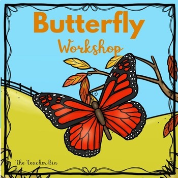 Kindergarten - Special Education -Butterfly Science, Math, & Literacy Activities