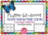 Butterfly Scoot~ Two-Digit Addition {No Regrouping}