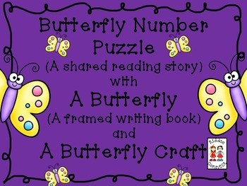 "Butterfly Shared Reading - ""Butterfly Number Puzzle"""