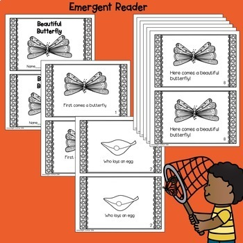 Butterfly Shared Reading Poem of the Week Materials