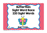 Butterfly Sight Word Race