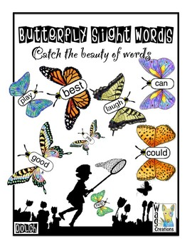 Sight Word Butterflies : Catching the Beauty of Words