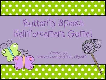 Butterfly Speech Reinforcement Game
