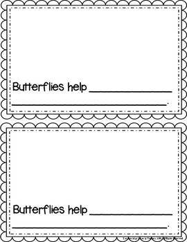 Butterfly Student Booklet {FREE}