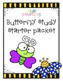 Butterfly Study Starter Packet