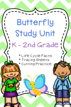 Butterfly Life Cycle Study Unit