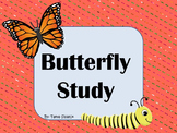 Butterfly Study with Life Cycle