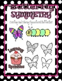 Spring Butterfly Symmetry (Reflection Symmetry) - Center Activity or Classwork