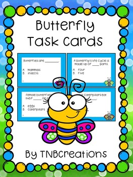 Butterfly Task Cards