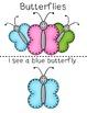Teacher Made Book on the Colors (Butterflies)