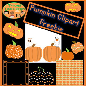 Pumpkin Clipart Freebie