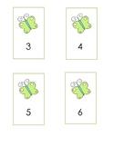 Butterfly Ten Frames 1-30
