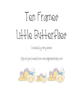 Butterfly Ten Frames