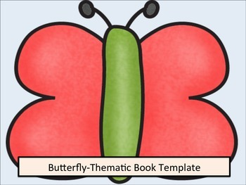 ESL Resources: Butterfly Thematic Writing Book Template 2-