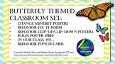Butterfly Theme Classroom Starter Set