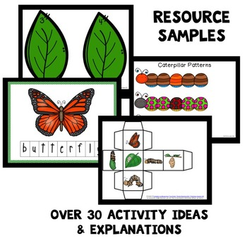 Butterfly Theme Home Preschool Lesson Plans