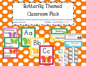 Butterfly Theme Polka Dot Super Pack