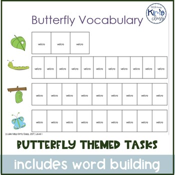 Butterfly Themed Centers / Independent Work FREE & Differentiated