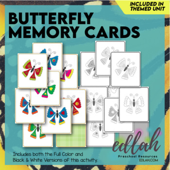 Butterfly Themed Memory Game (Insect)