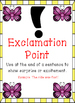 Butterfly Themed - Punctuation Posters