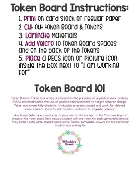 Butterfly Token Board