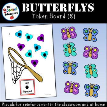 Butterfly Token Board (8)